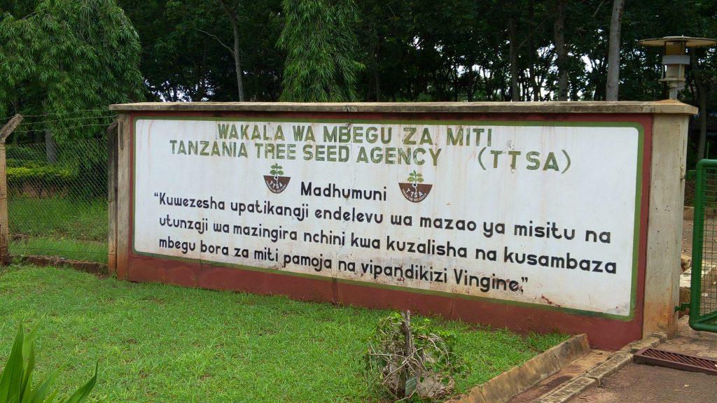 Motsvarigheten till Skogsvårdsstyrelsen i Tanzania