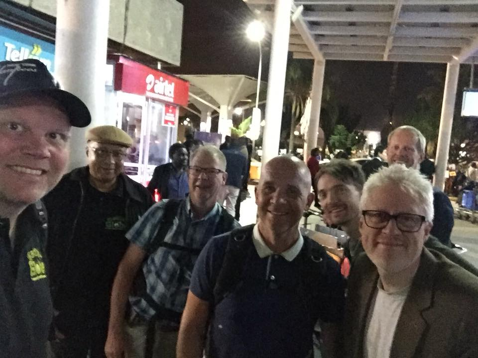 The customers from Stockholm have landed in Nairobi after a long flight