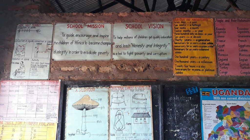 The school's vision and mission, 180703