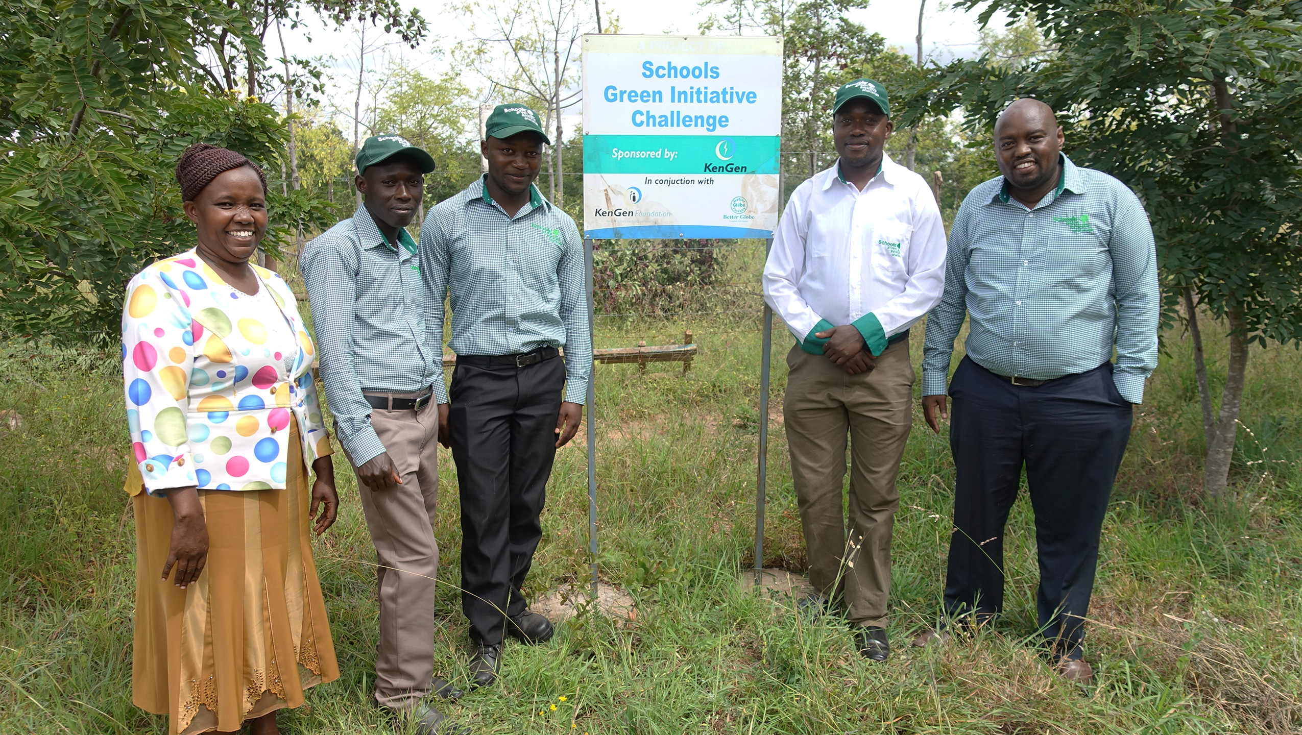 Schools engaged in tree planting